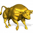 Golden Bull — Stock Photo