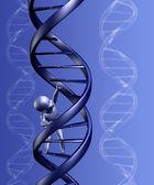 DNA Baby with Background — Stock Photo