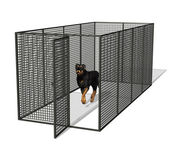 Dog Kennel — Stock Photo