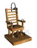 Electric chair — Stock Photo