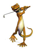 Golf gecko — Foto de Stock