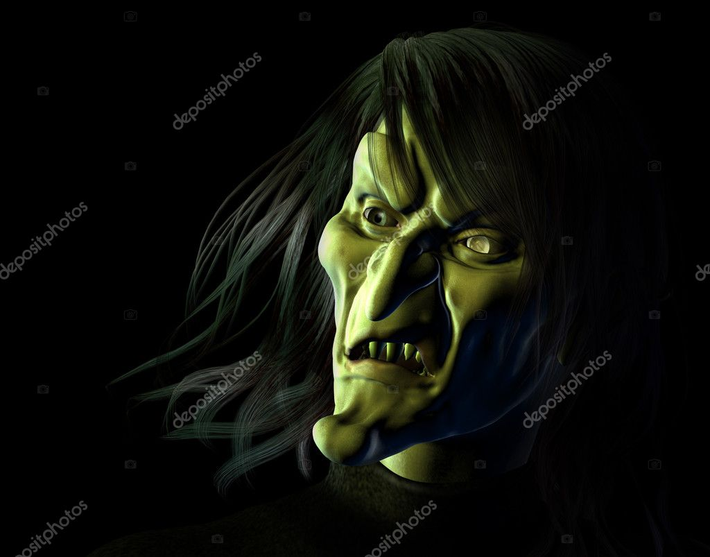 Hideous Witch - 3D render — Stock Photo #8295879