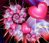 Heart Spiral — Stock Photo