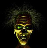 Hideaous rosto — Foto Stock