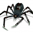 Robo-Spider - Stock Photo