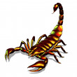 Metallic Scorpion - Stock Photo