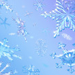 Snowflakes Falling - Stock Photo