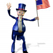 Uncle Sam — Stock Photo #8311810