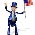 Uncle Sam — Stock Photo