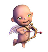 Cartoon Cupid — Stock Photo