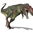 Stock Photo: Giganotosaurus Dinosaur