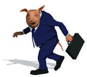 Take the Bonus and Run — Stock Vector