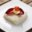 Vegetarian rice cake — Stock Photo #10048978