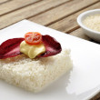 Vegetarian rice cake — Stock Photo #10049056
