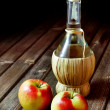 Apple vinegar - Stock Photo