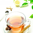 Relaxing tea — Stock Photo