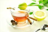 Relaxing tea — Stock Photo
