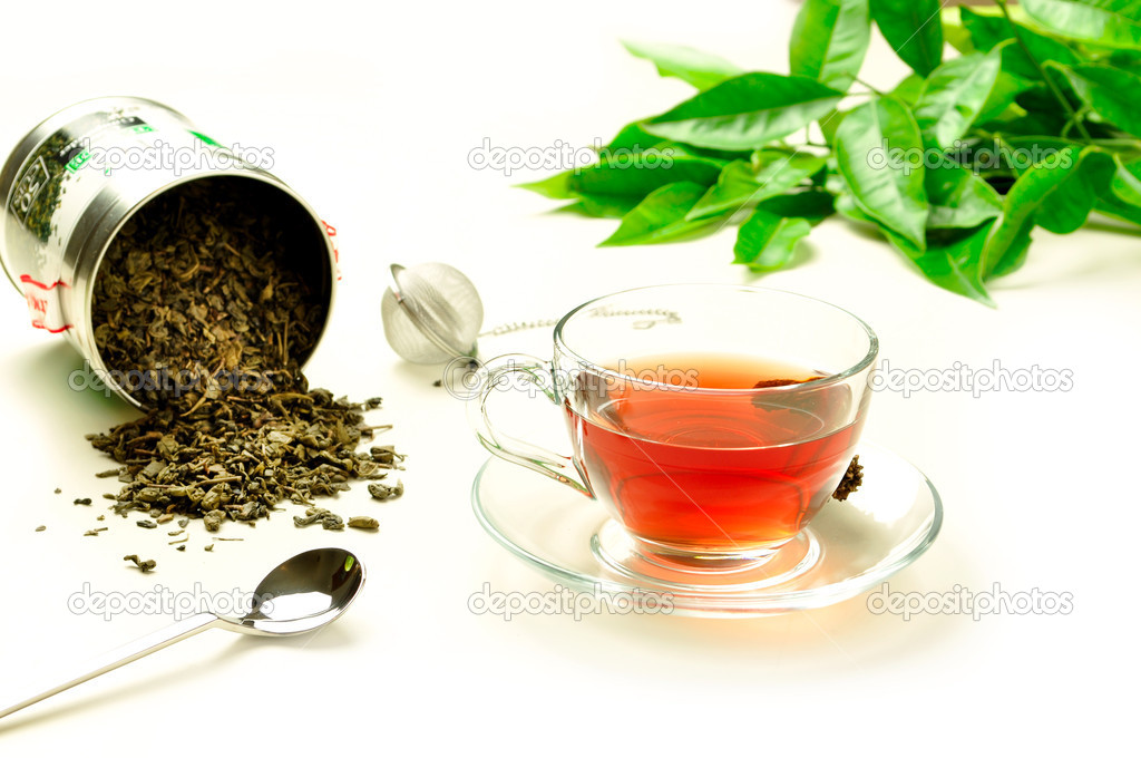 A hot cup of tea — Stock Photo #10658279