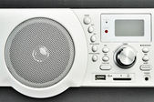 Moderne radio — Stockfoto