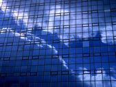 Spegling byggnaden — Stockfoto