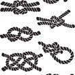 Set of knots - Stok Vektr