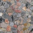 Colored stone wall — Stock Photo