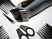 Accessories of hairdresser — Stock Photo