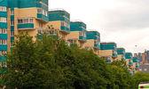 Residence quarter, Russia — Stock Photo