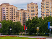 Residence quarter, Russia — Stock Photo