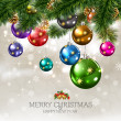 Royalty-Free Stock Vektorfiler: Merry Christmas & Happy New Year 2012