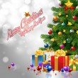 Merry Christmas & Happy New Year — Image vectorielle