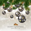 Merry Christmas &amp; Happy New Year - Stock Vector