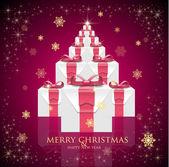 счастливого рождества & с новым годом — Cтоковый вектор
