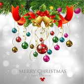 Merry Christmas & Happy New Year — Stock Vector