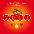Merry Christmas & Happy New Year - Stock Vector