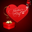 Royalty-Free Stock Vector Image: Happy Valentine\'s Day Card