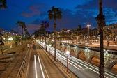 Barcelona treafic — Stok fotoğraf