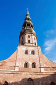 St. Peter's Church, Riga — Foto de Stock