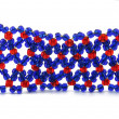 Weaved beads — Stock Photo