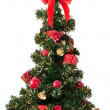 Christmas tree on white — Stock Photo #8223759