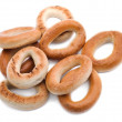 A lot of delicious bagels - Foto de Stock