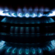 Gas flame — Stock Photo