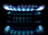 Flama do gás — Foto Stock