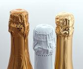 Tres tapas de botella — Foto de Stock