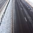 Road in winter time — Stock Photo #8346394