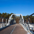 Walking bridge — Stock Photo
