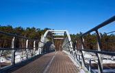Pěší most — Stock fotografie