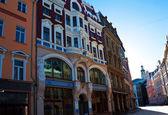 Ciudad vieja calle en riga — Foto de Stock