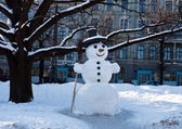 Boneco de neve — Foto Stock