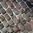 Stock Photo: Roadway from stone brick